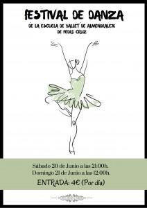 FESTIVAL DE DANZA DE LA ESCUELA DE BALLET DE ALMENDRALEJO de Pedro Cruz (Domingo)