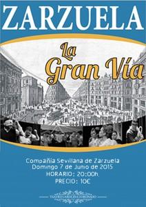 ZARZUELA LA GRAN VÍA de la Compañía Sevillana de Zarzuela