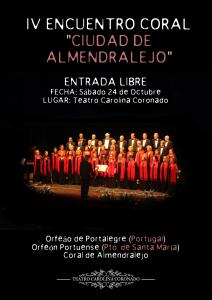 IV ENCUENTRO CORAL CIUDAD DE ALMENDRALEJO