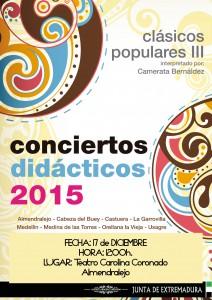 CONCIERTO DIDÁCTICO: CLÁSICOS POPULARES III