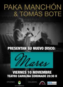 Cartel Presentación disco Paka&Tomás