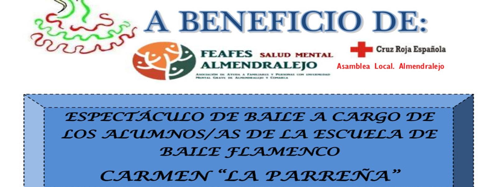 """ESPECTÁCULO DE BAILE FLAMENCO ESCUELA CARMEN """"LA PARREÑA"""""""
