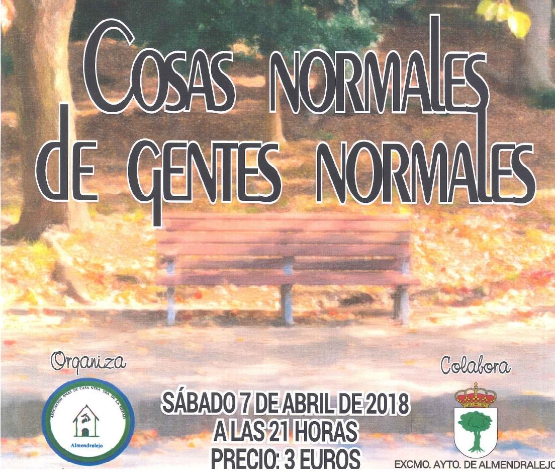 """Las Atrevidas """"COSAS NORMALES DE GENTES NORMALES"""""""