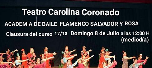 ACADEMIA DE BAILE FLAMENCO SALVADOR Y ROSA
