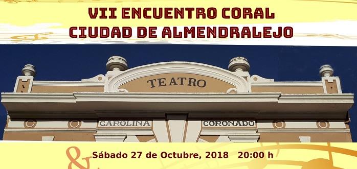 VII ENCUENTRO CORAL CIUDAD DE ALMENDRALEJO
