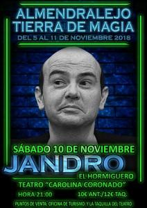 ALMENDRALEJO TIERRA DE MAGIA: JANDRO