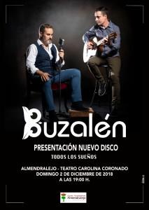 """PRESENTACIÓN DEL DISCO DE BUZALÉN """"TODOS LOS SUEÑOS"""""""