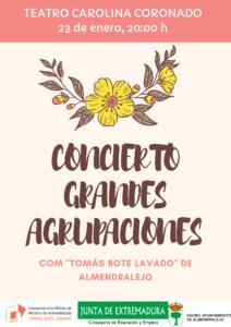 """Concierto del COM """"Tomás Bote de Almendralejo"""""""