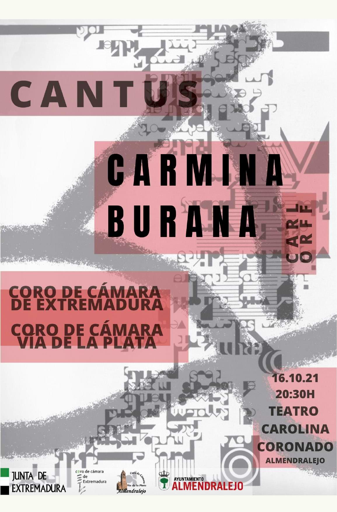 Carmina Burana Teatro Carolina Coronado
