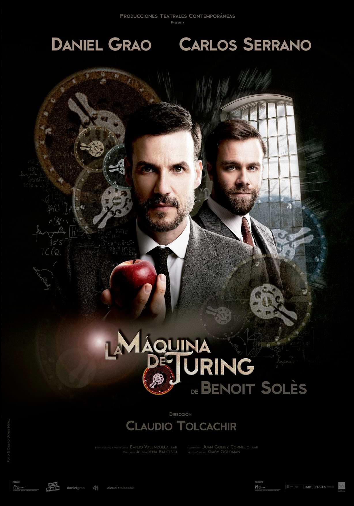 La máquina de Turing Benoit Solés Teatro Carolina Coronado