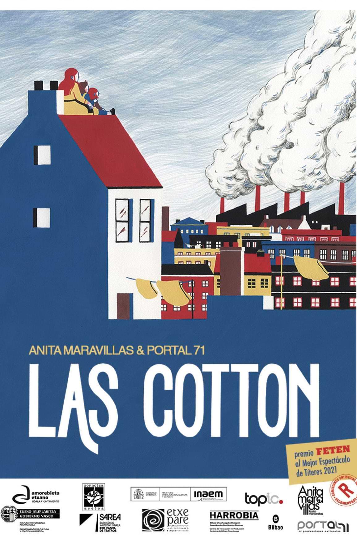 Las Cotton Teatro Carolina Coronado