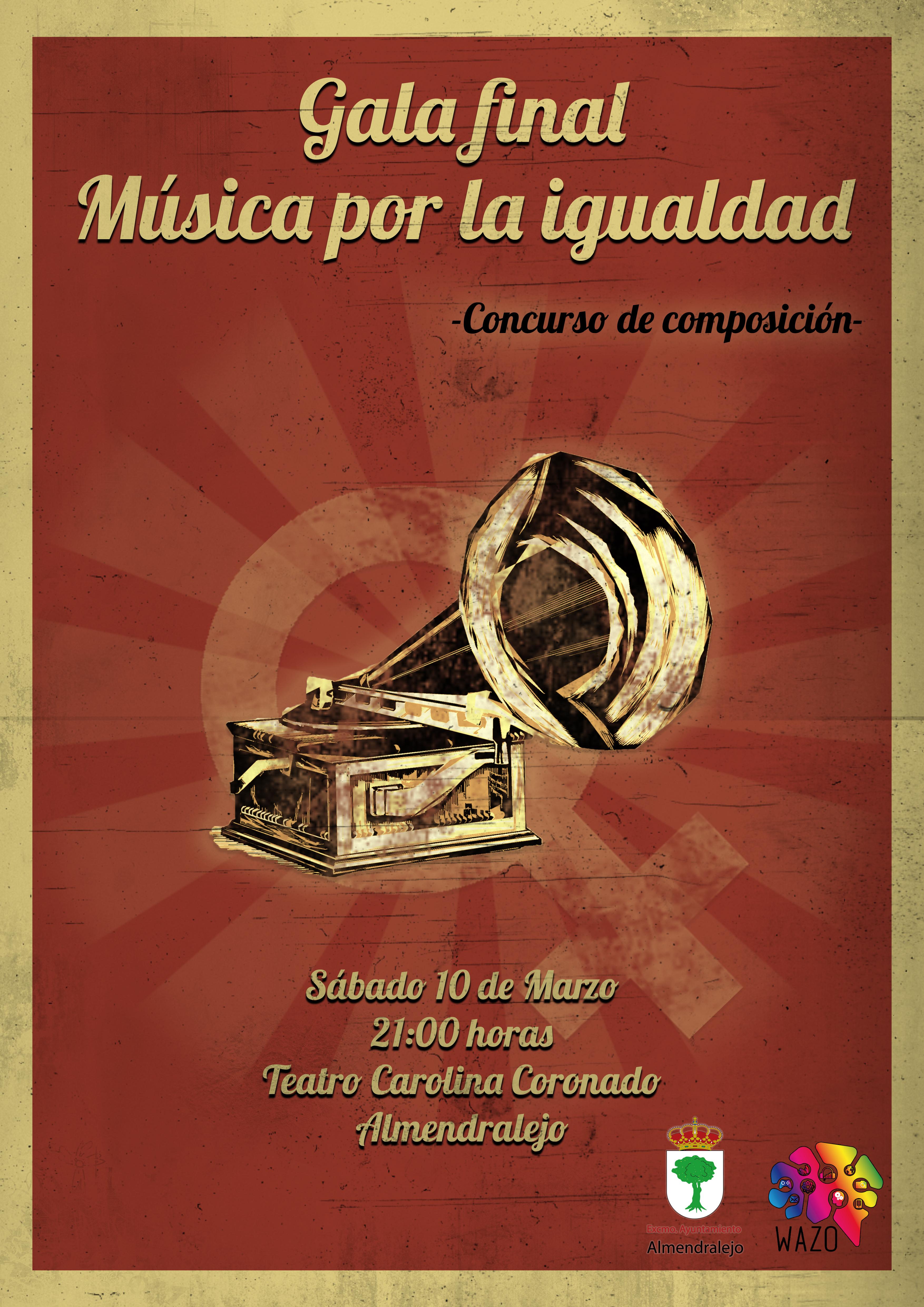 Gala Final del Concurso Música por la Igualdad